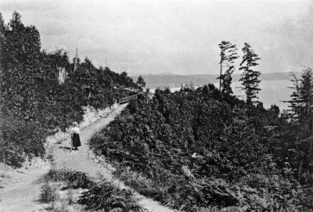 Bike Path Above Leschi.